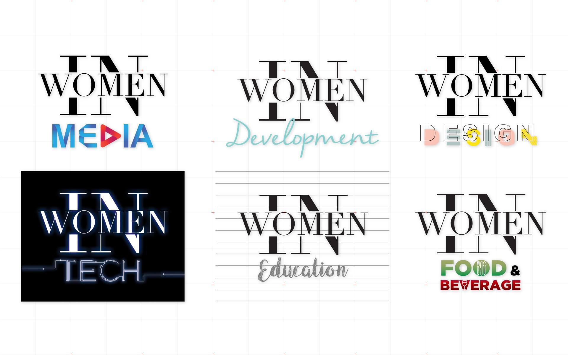 Logos Women In - Akinasia by Suzaku Productions