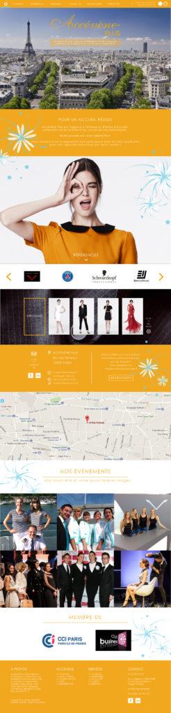 Accévène Plus website by Suzaku Productions