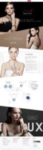 Monaco Bijoux website by Suzaku Productions