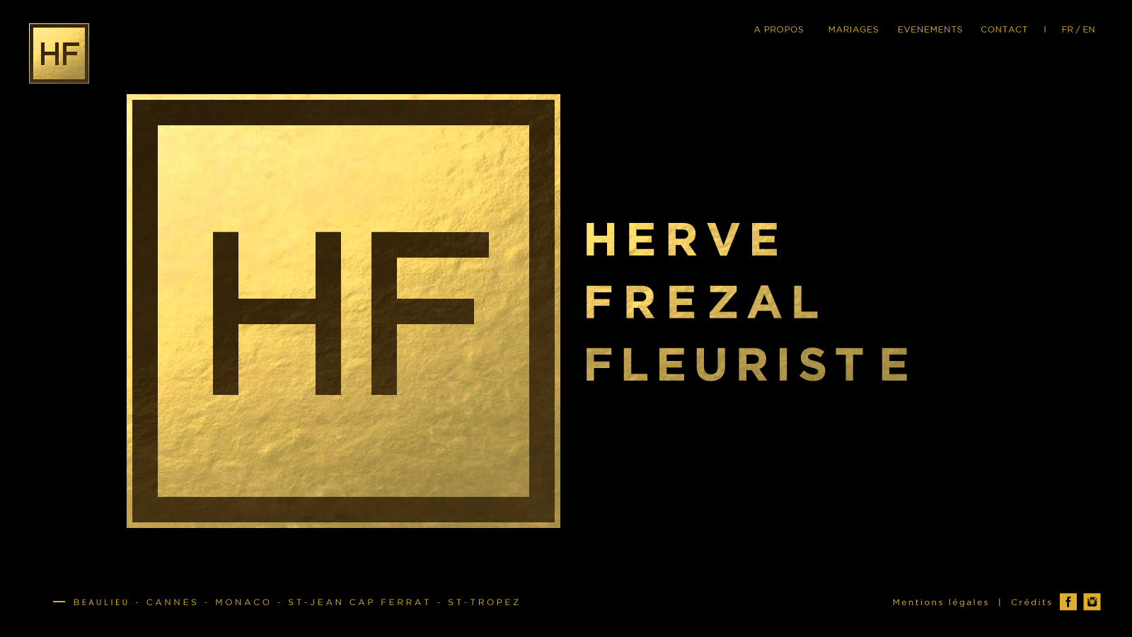 Herve Frezal logo by Suzaku Productions