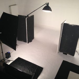 Backstage of photo shooting for Accevene Plus 8