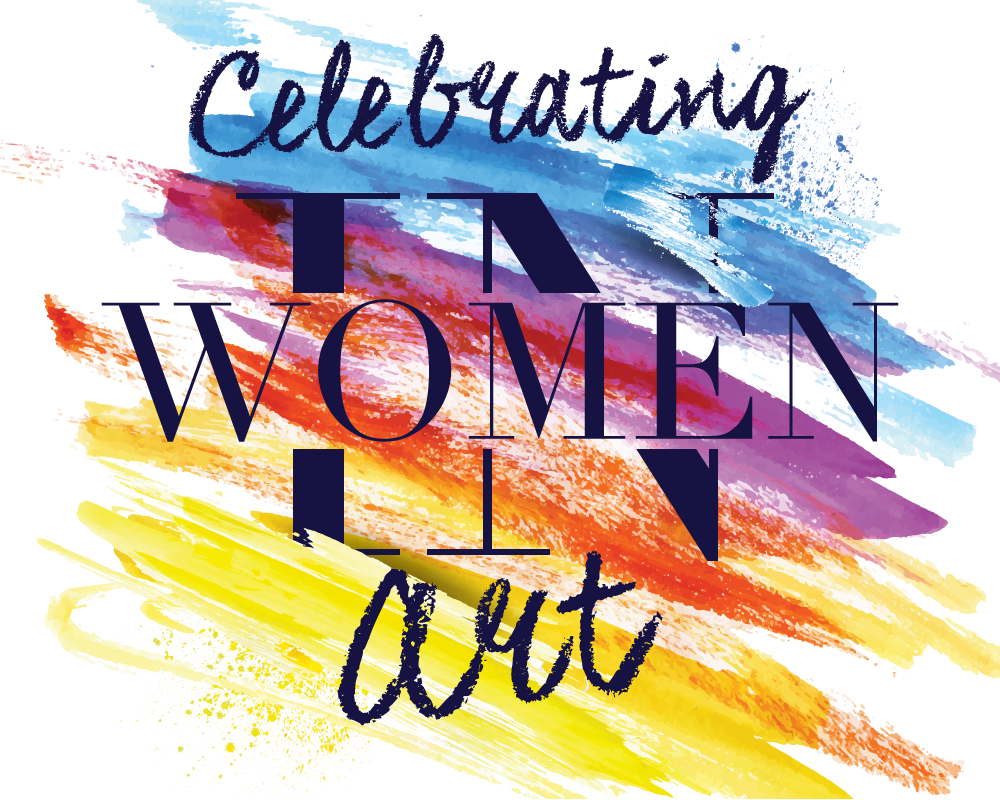 """""""Women In Art"""" logo for AKINASIA by Suzaku Productions"""