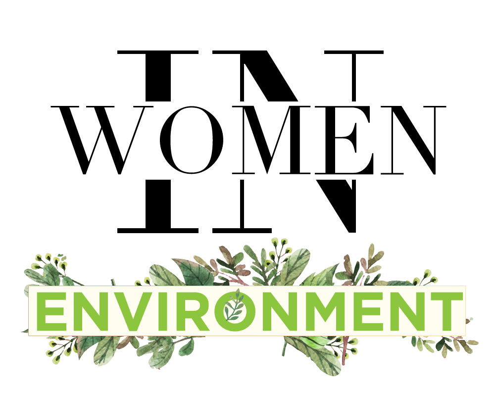 """Women In Environment"" logo for AKINASIA by Suzaku Productions"