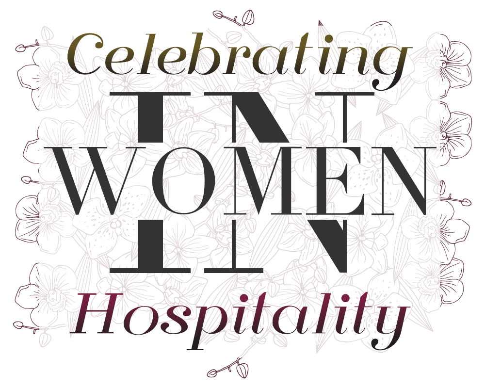 """""""Women In Hospitality"""" logo for AKINASIA by Suzaku Productions"""