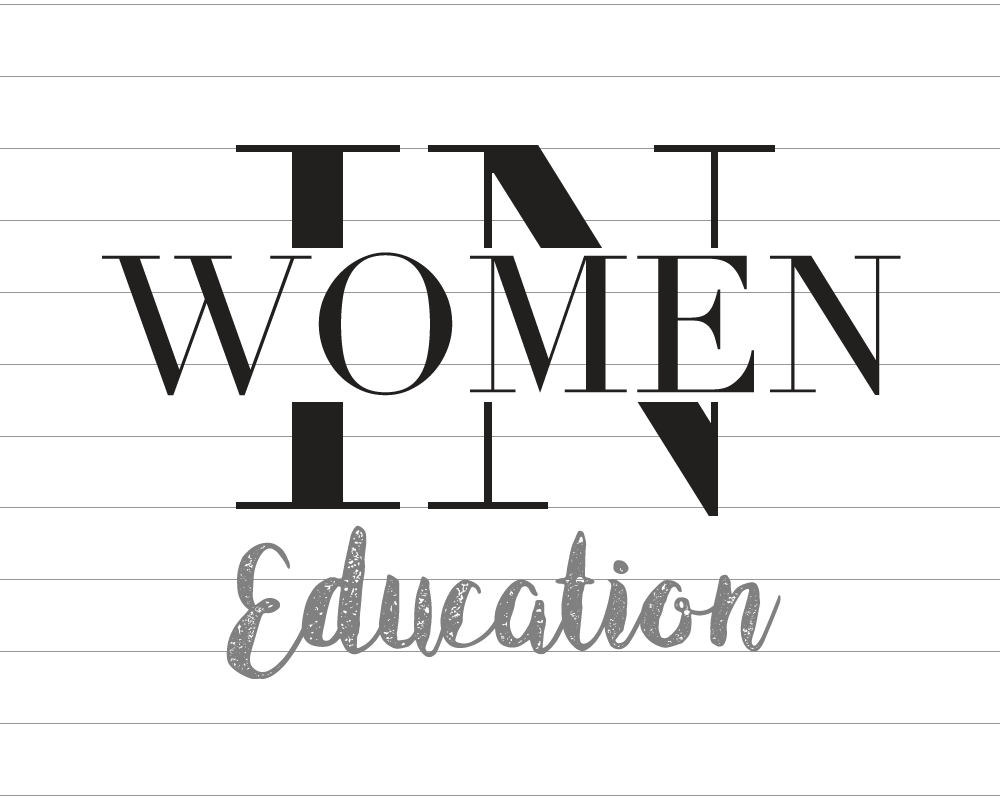 """Women In Education"" logo for AKINASIA by Suzaku Productions"